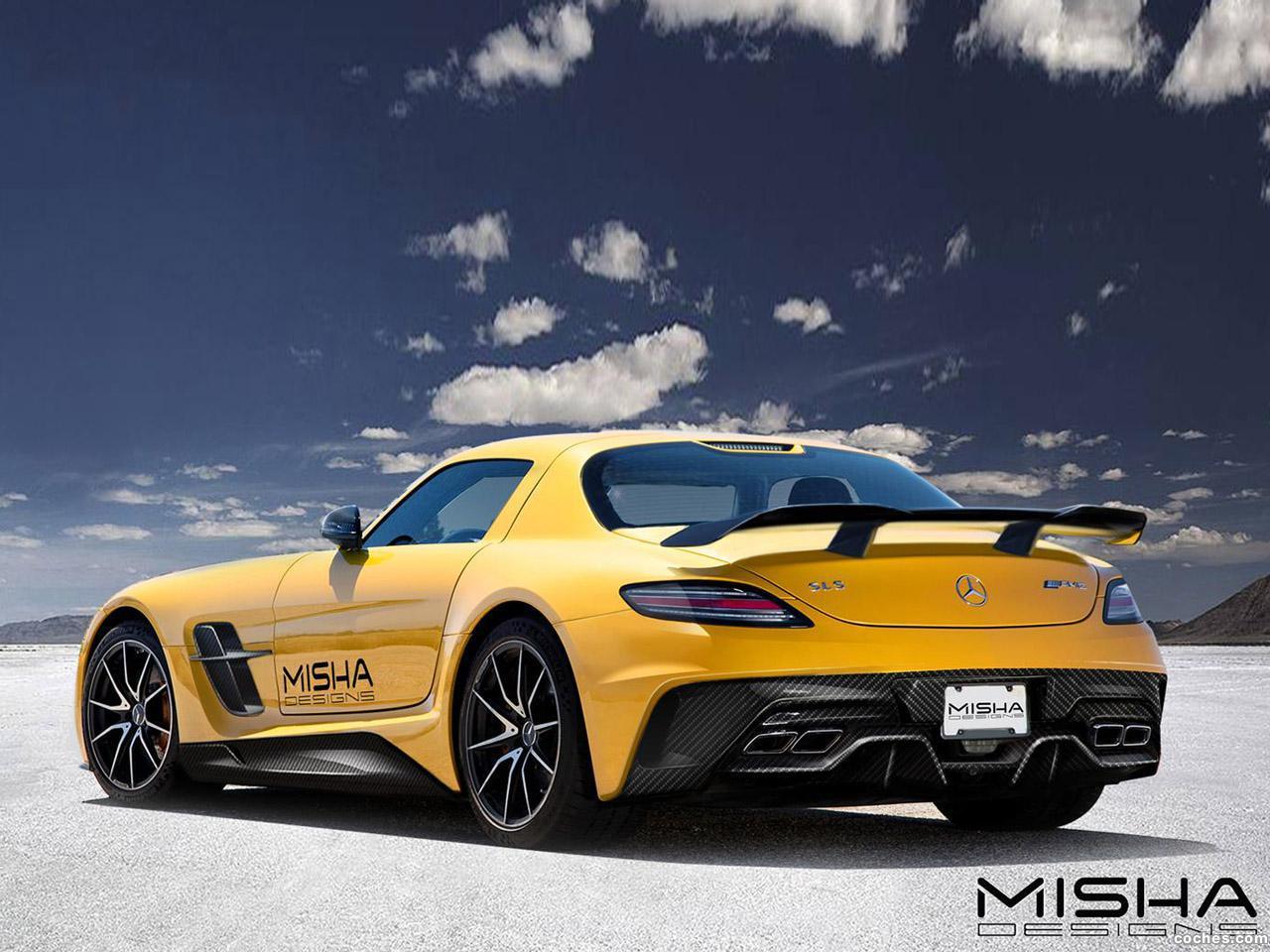 Foto 2 de Misha Mercedes SLS AMG 2014