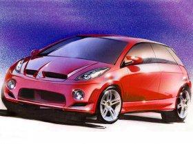 Ver foto 4 de Mitsubishi CZ3 Tarmac Concept 2002