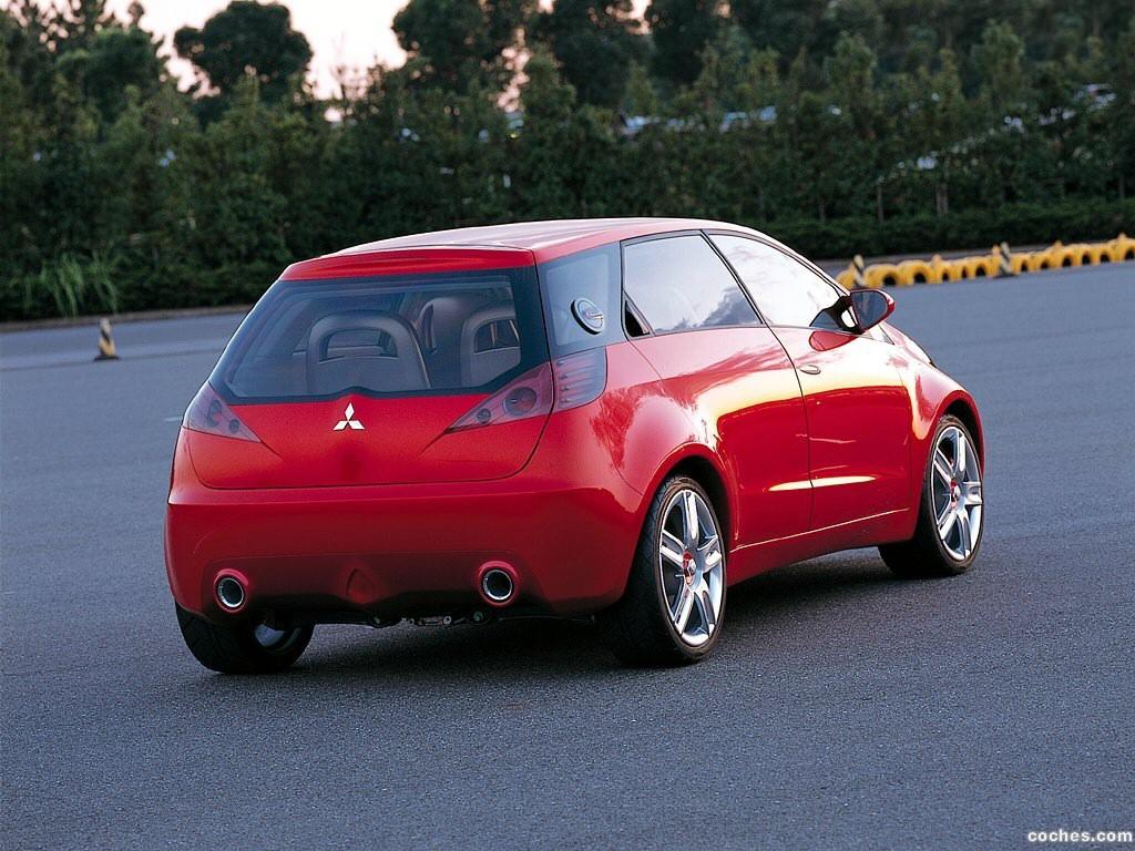 Foto 0 de Mitsubishi CZ3 Tarmac Concept 2002