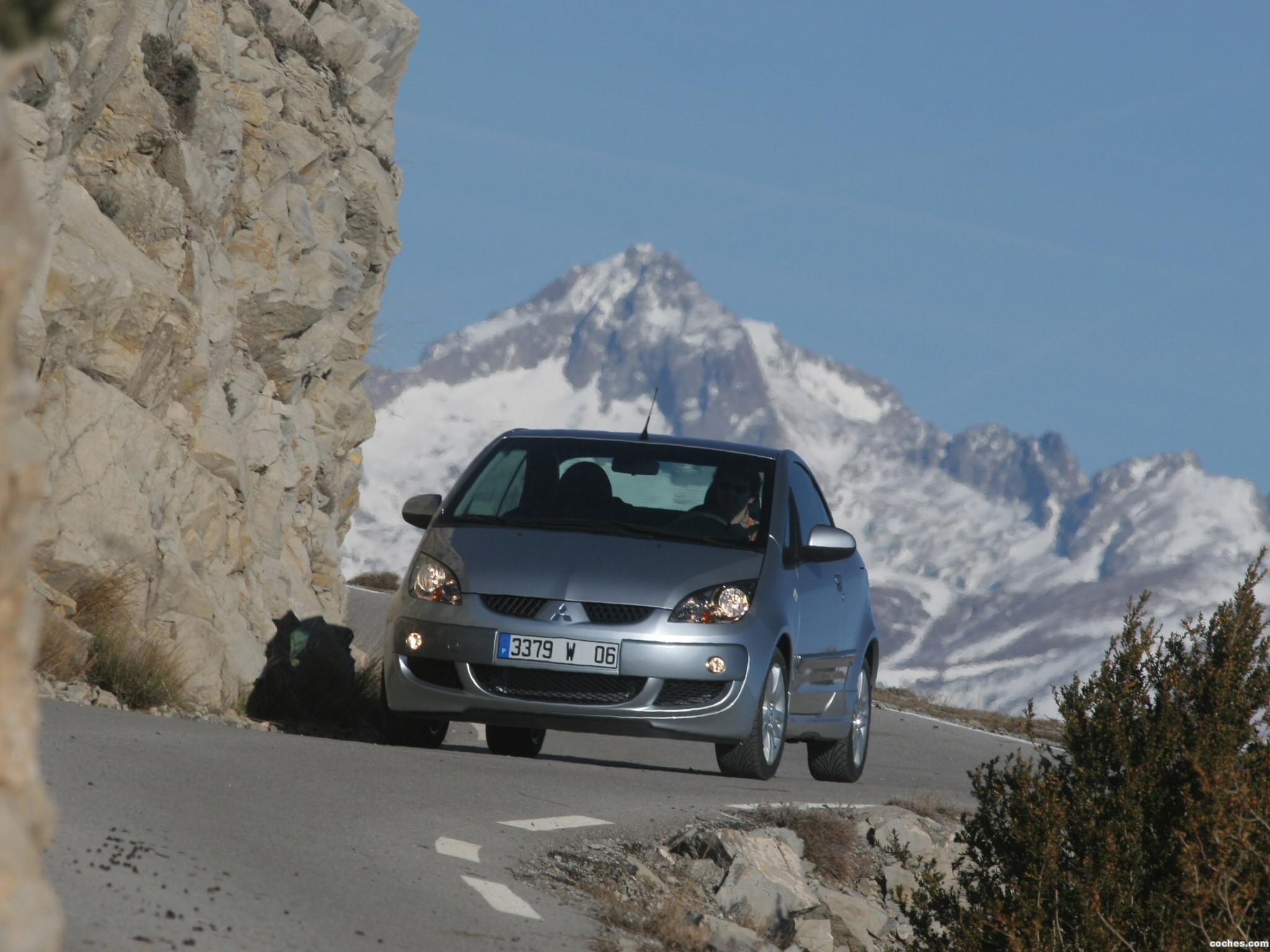 Foto 11 de Mitsubishi Colt CZC Cabrio Turbo 2006
