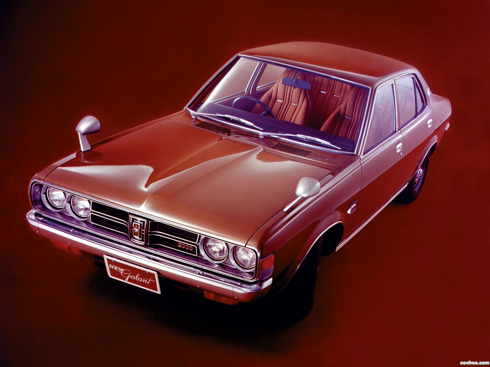 Foto 0 de Mitsubishi Colt Galant Sedan 1973