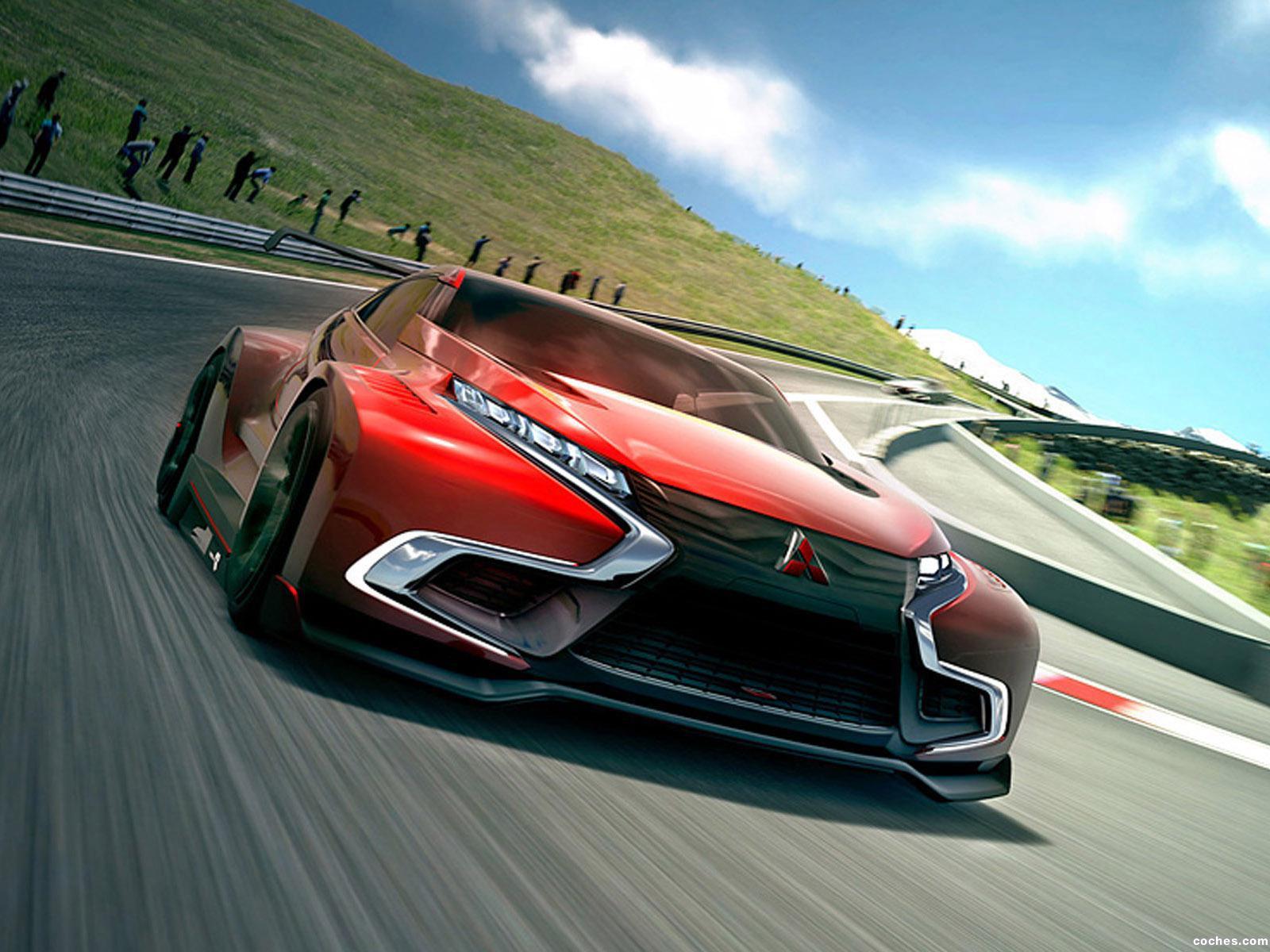 Foto 0 de Mitsubishi Concept XR-PHEV Evolution Vision Gran Turismo 2014
