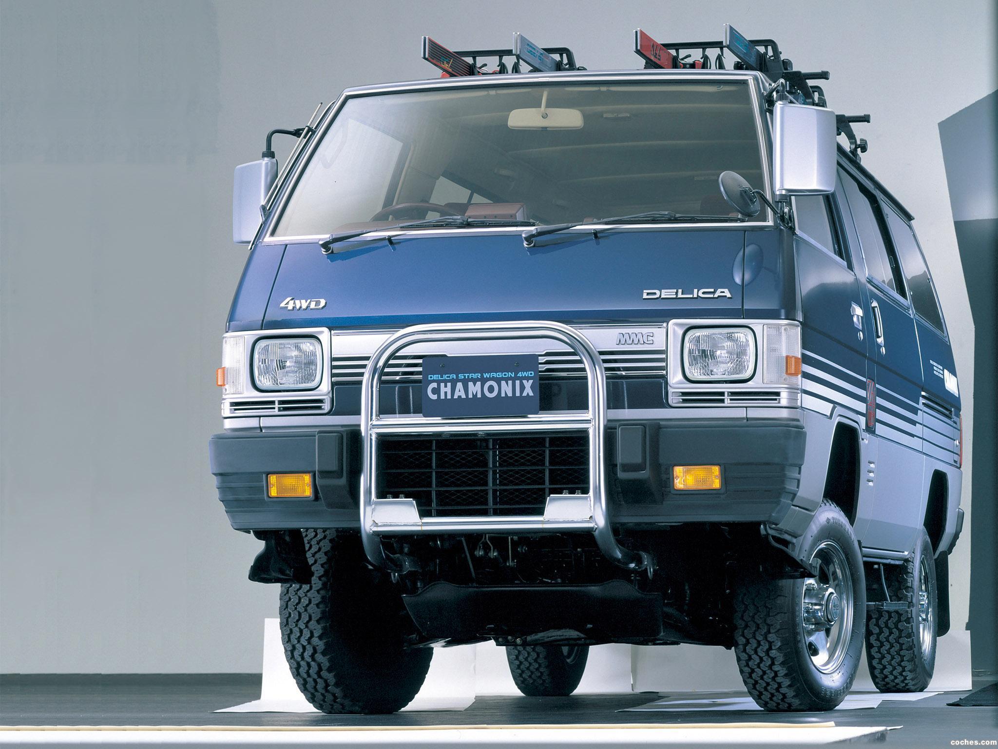 Foto 2 de Mitsubishi Delica 4WD 1985