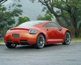 Ver foto 4 de Mitsubishi Eclipse Concept 2004