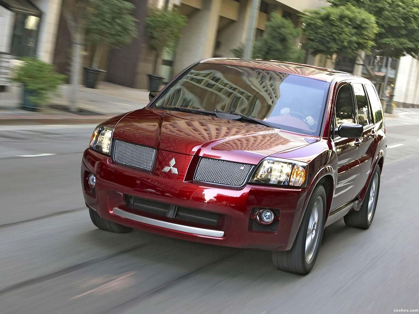 Foto 0 de Mitsubishi Endeavor Ralliart Concept 2004