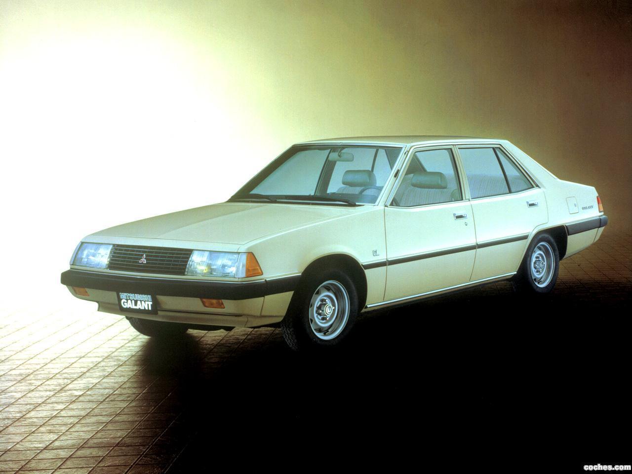 Foto 2 de Mitsubishi Galant 1980