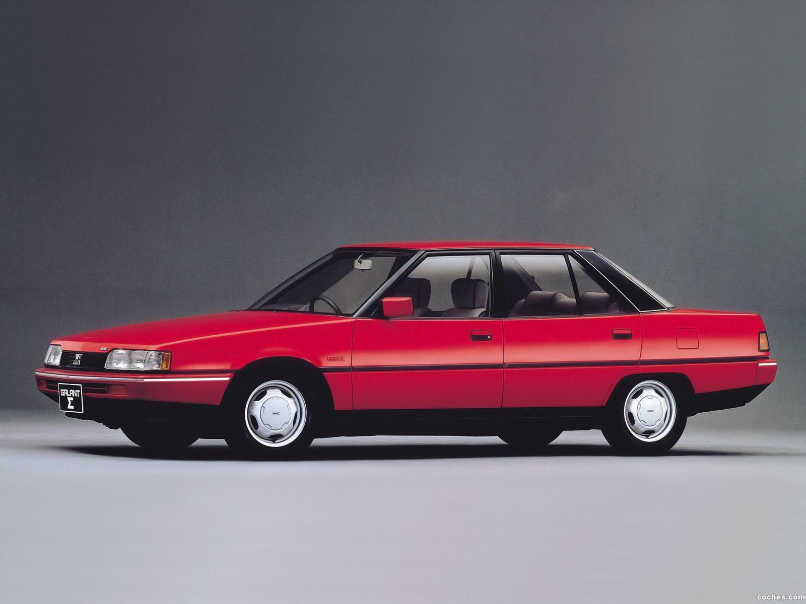Foto 0 de Mitsubishi Galant 2000 GSR-X Turbo 1983