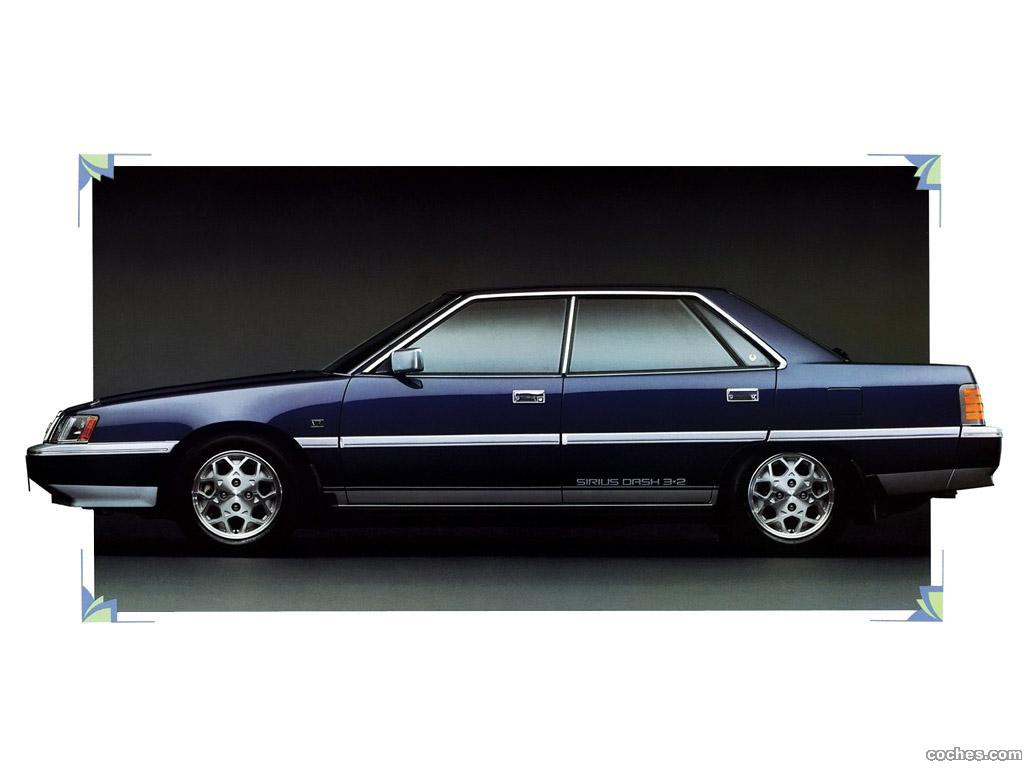 Foto 0 de Mitsubishi Galant Sigma 2000 VR Hardtop E15A 1984
