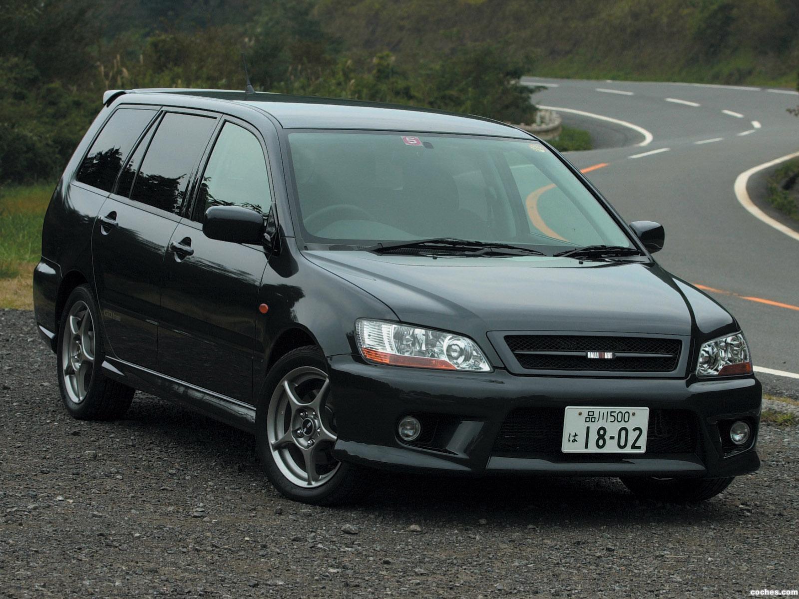Foto 0 de Mitsubishi Lancer Cedia Wagon Ralliart 2000