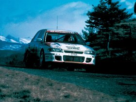 Ver foto 2 de Mitsubishi Lancer Evolution I Rally 1992