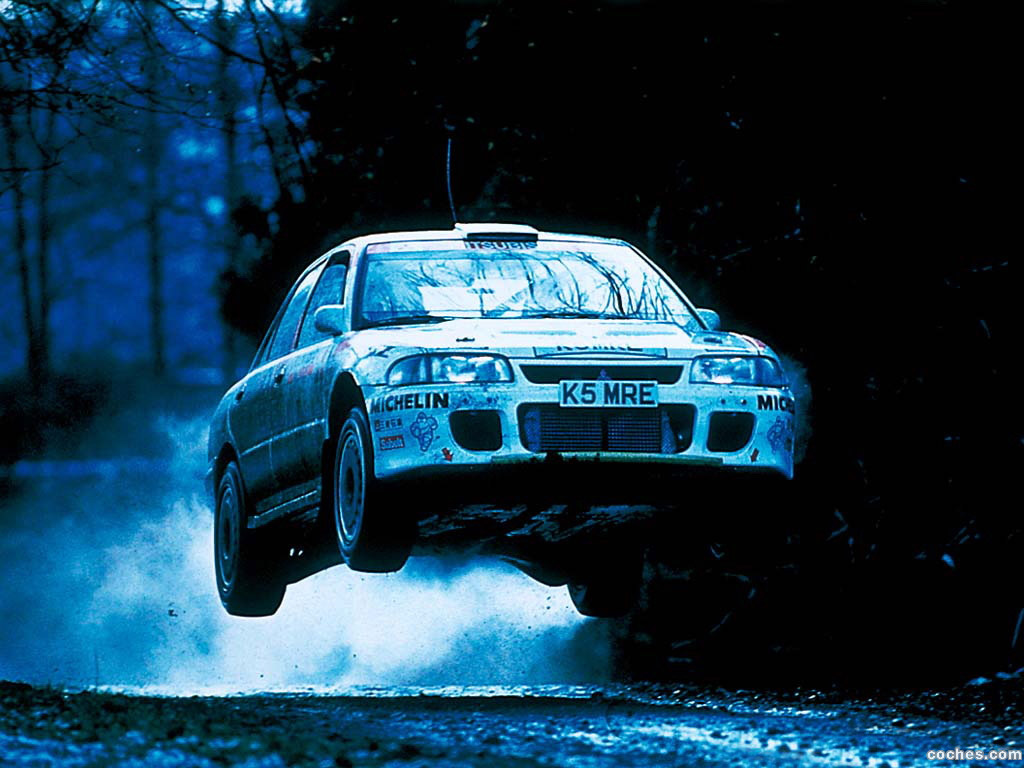Foto 0 de Mitsubishi Lancer Evolution I Rally 1992