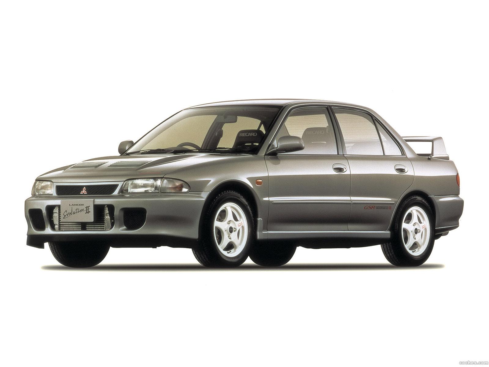 Foto 0 de Mitsubishi Lancer Evolution II 1994