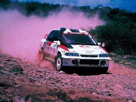 Ver foto 1 de Mitsubishi Lancer Evolution II Rally Version 1994