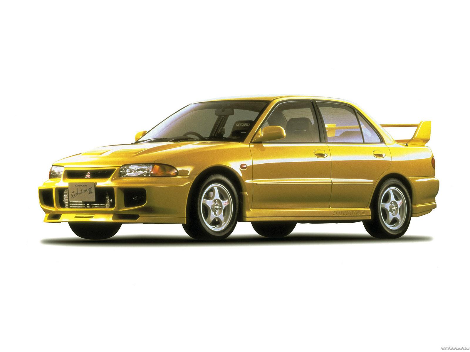 Foto 0 de Mitsubishi Lancer Evolution III 1995