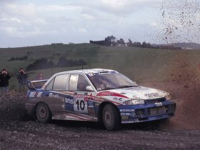 Ver foto 1 de Mitsubishi Lancer Evolution III Rally Version 1995