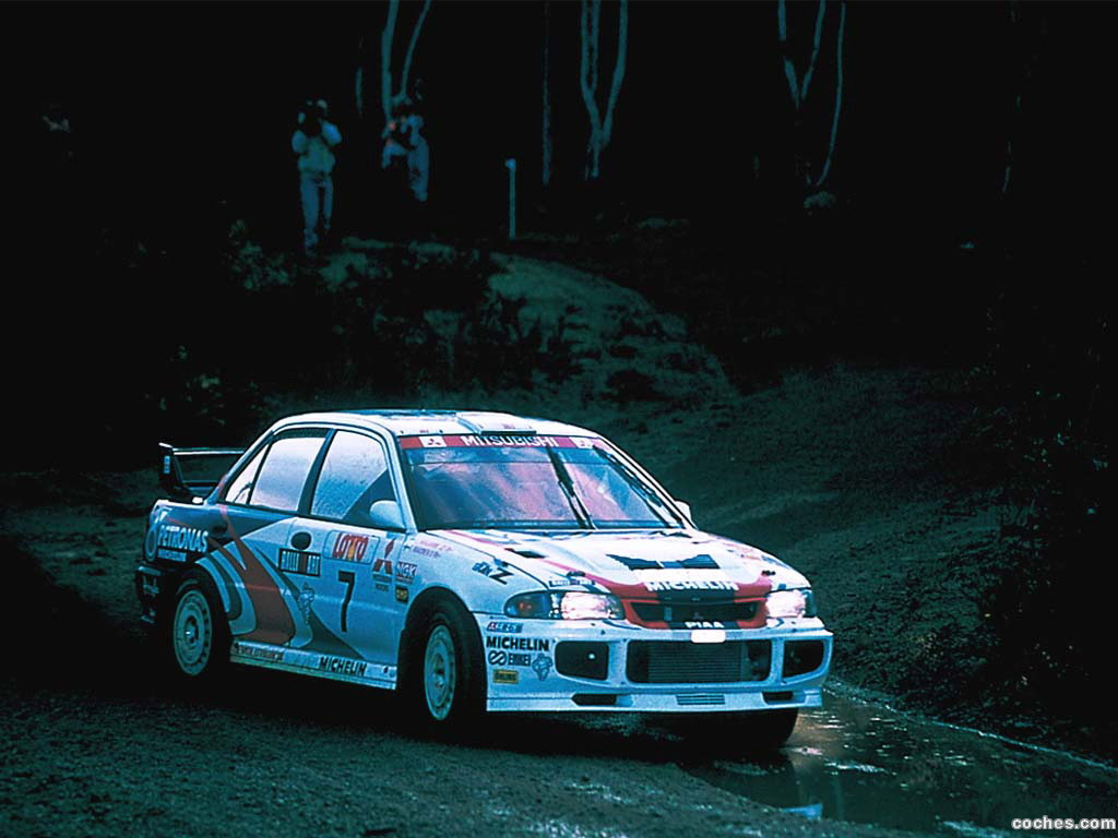Foto 2 de Mitsubishi Lancer Evolution III Rally Version 1995