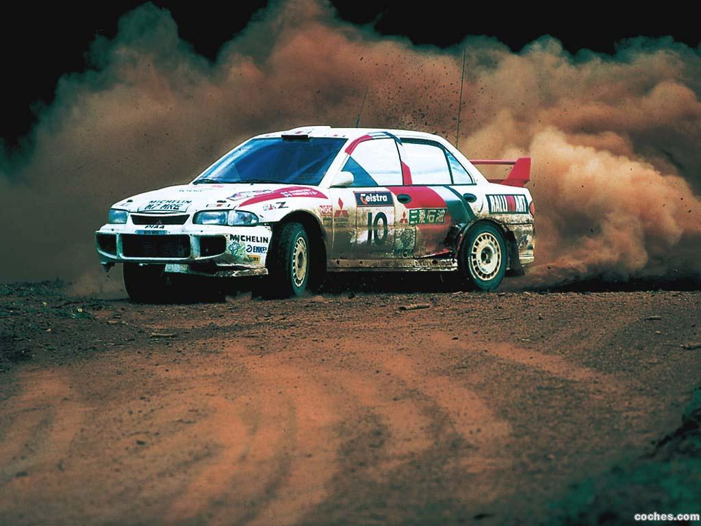 Foto 1 de Mitsubishi Lancer Evolution III Rally Version 1995
