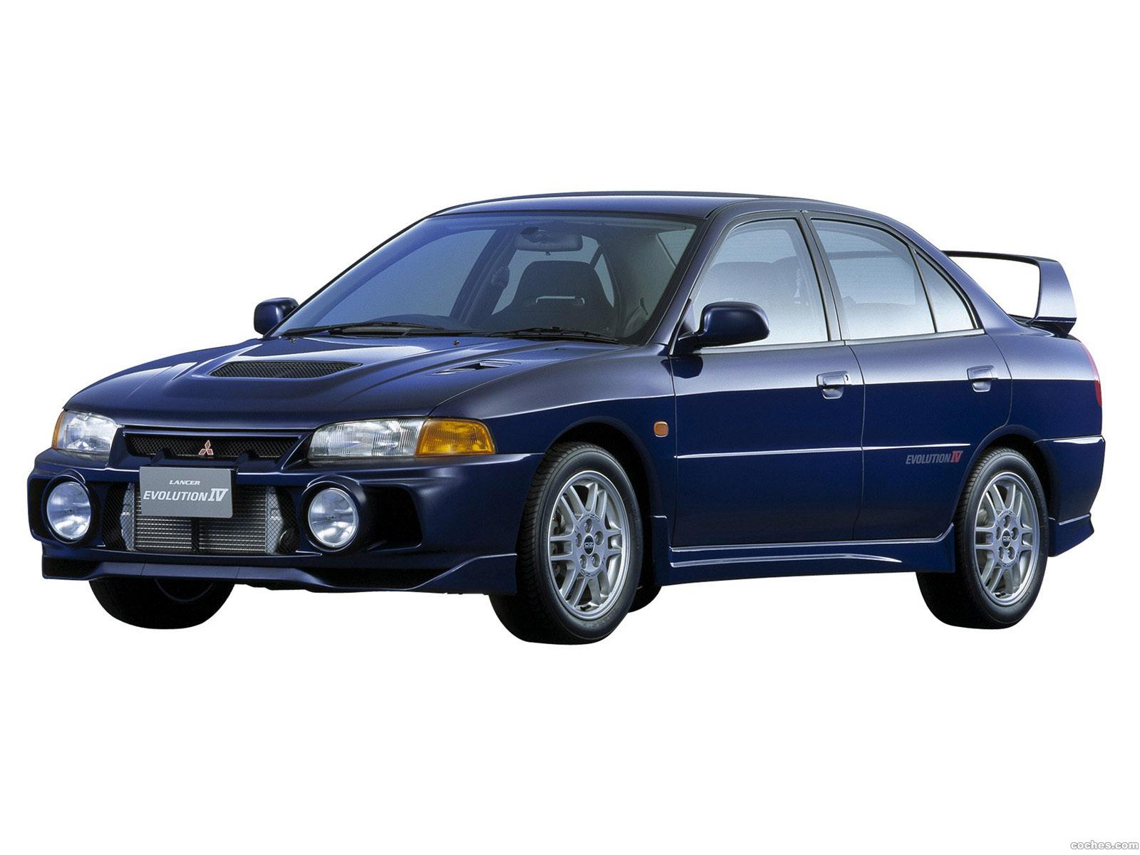Foto 0 de Mitsubishi Lancer Evolution IV 1996