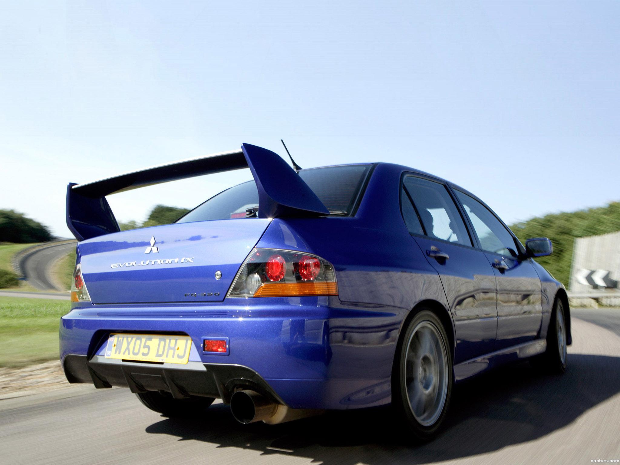 Foto 6 de Mitsubishi Lancer Evolution IX 2005