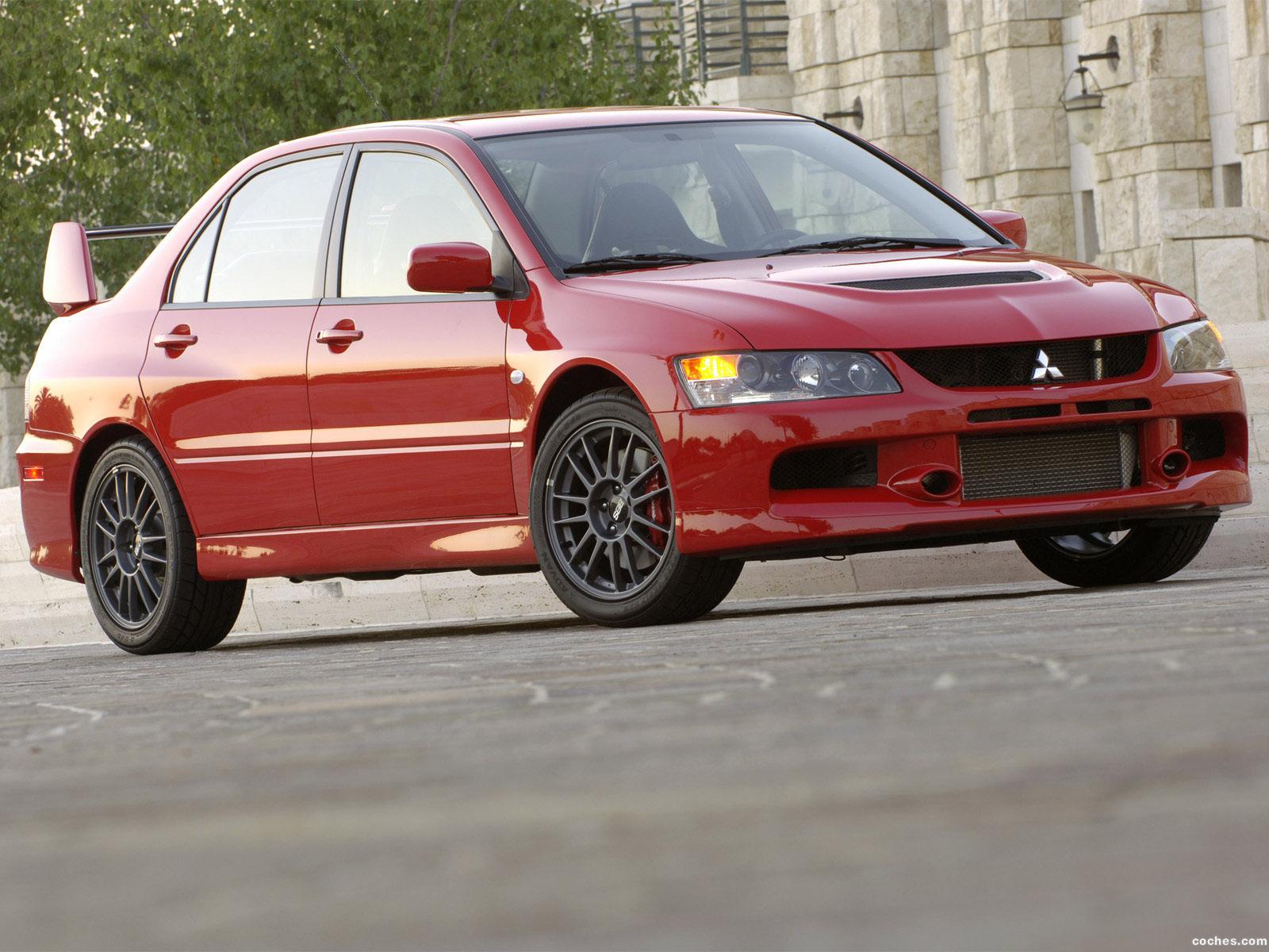 Foto 5 de Mitsubishi Lancer Evolution IX MR 2006