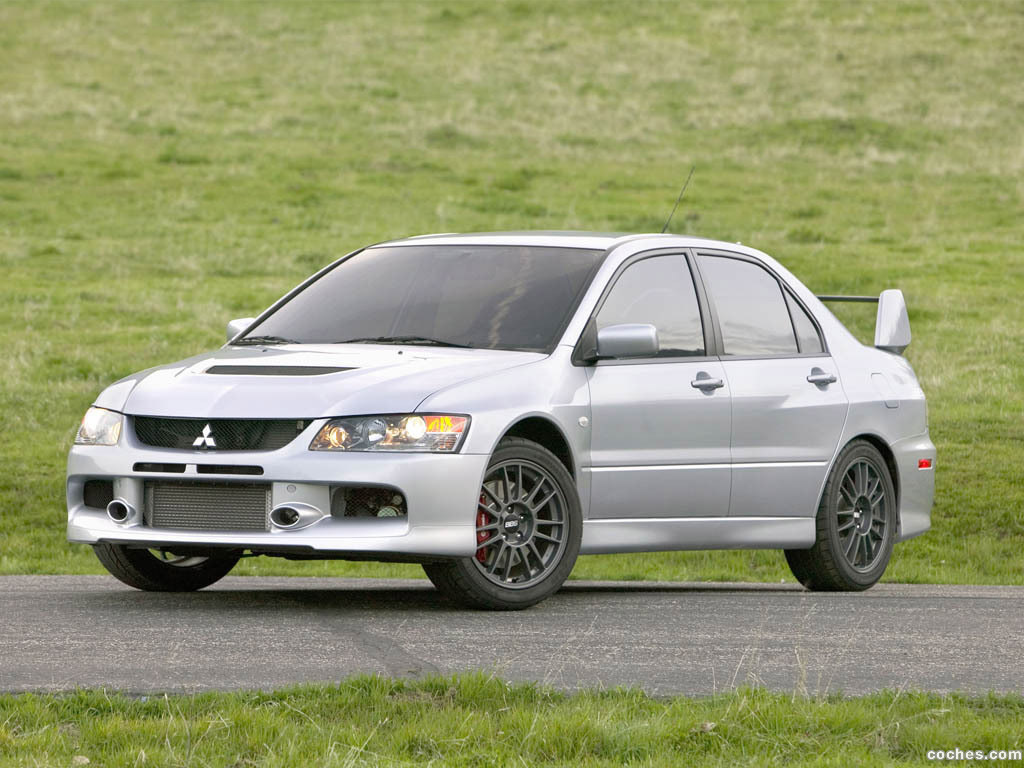 Foto 10 de Mitsubishi Lancer Evolution IX MR 2006