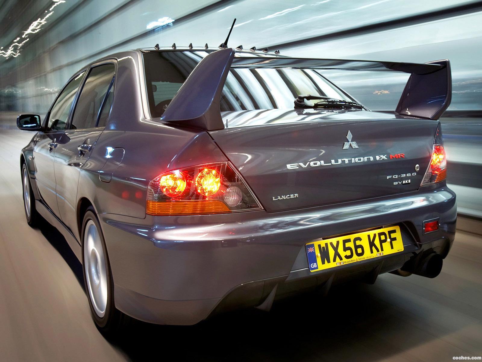Foto 5 de Mitsubishi Lancer Evolution IX MR FQ 360 Final Edition 2007