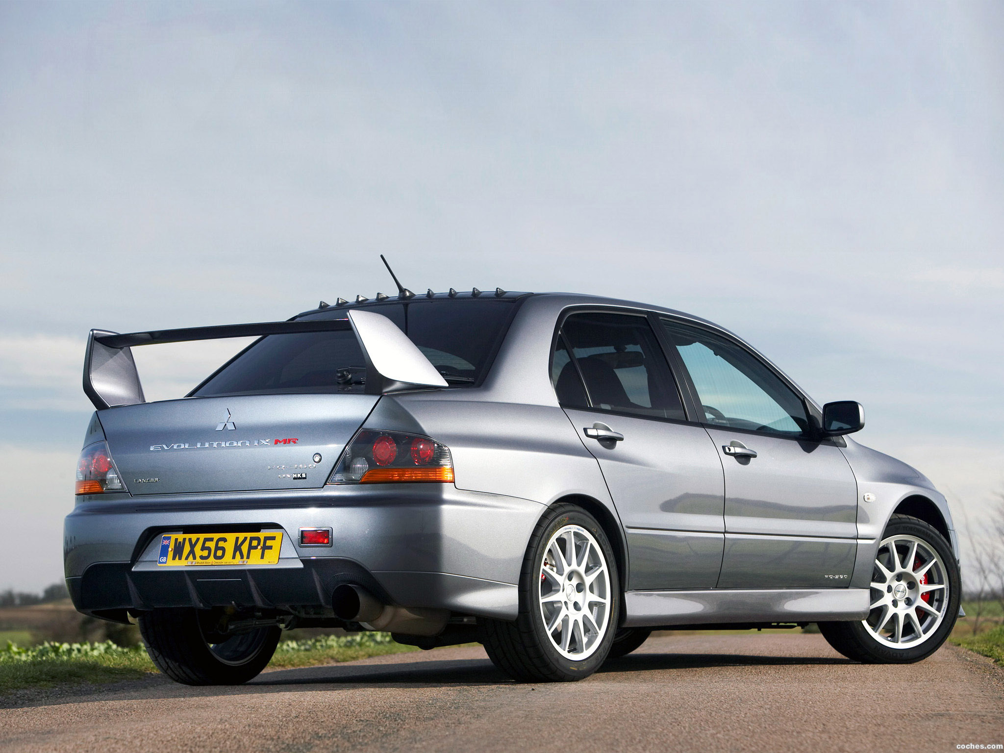 Foto 10 de Mitsubishi Lancer Evolution IX MR FQ 360 Final Edition 2007
