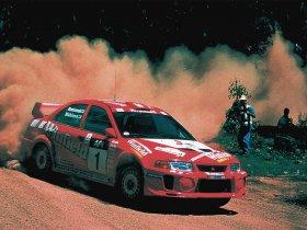 Ver foto 1 de Mitsubishi Lancer Evolution V WRC 1999