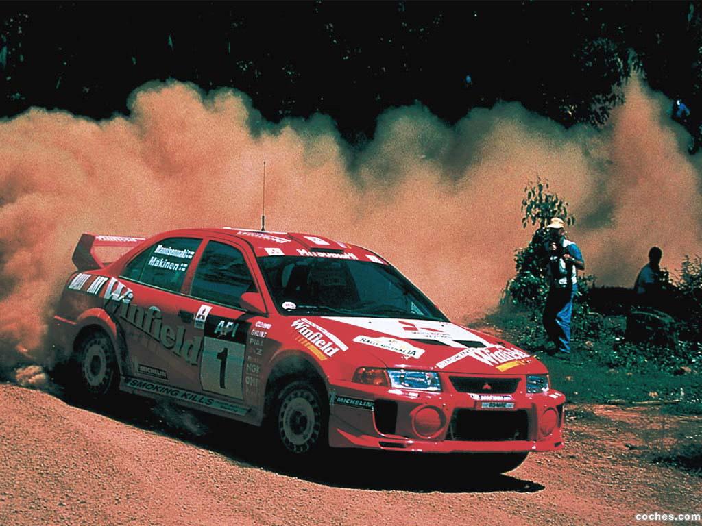 Foto 0 de Mitsubishi Lancer Evolution V WRC 1999