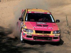 Ver foto 3 de Mitsubishi Lancer Evolution VII WRC 2001