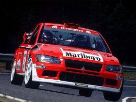 Ver foto 2 de Mitsubishi Lancer Evolution VII WRC 2001