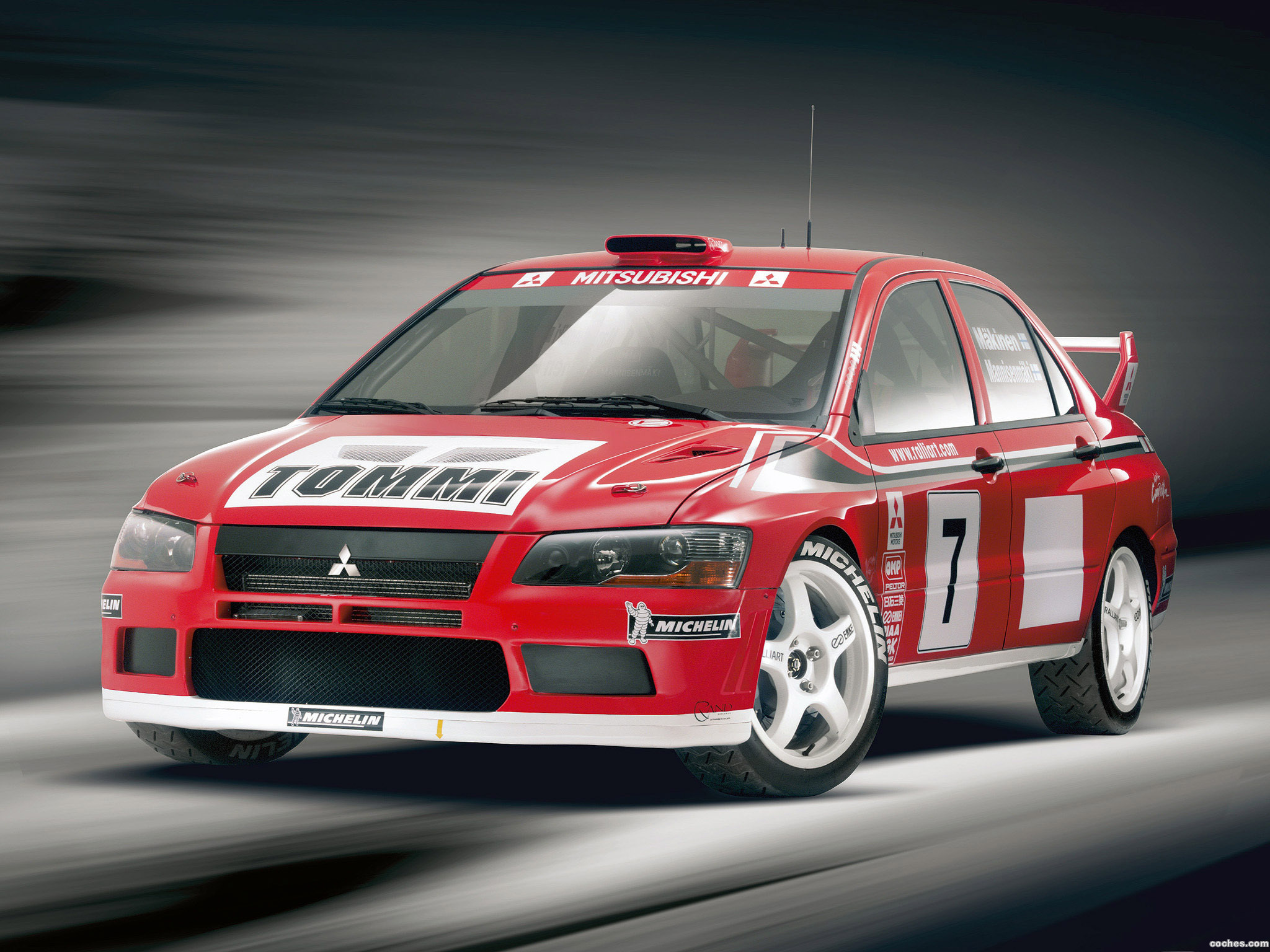 Foto 0 de Mitsubishi Lancer Evolution VII WRC 2001