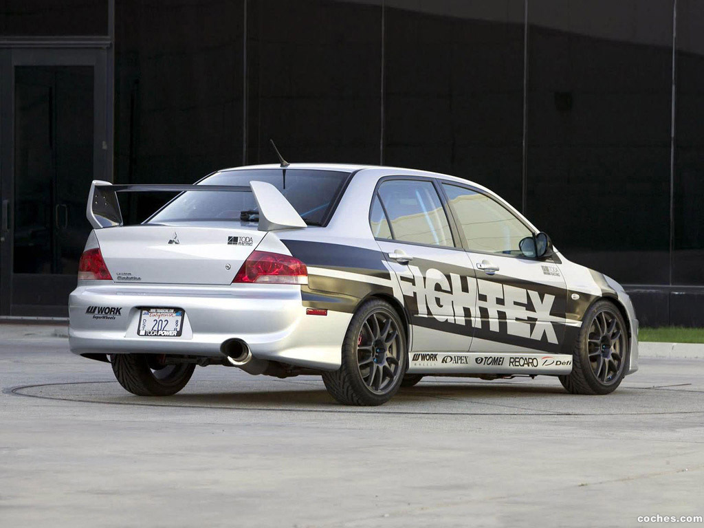 Foto 2 de Mitsubishi Lancer Evolution VIII Fightex 2004