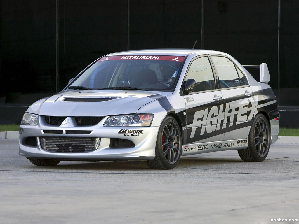 Foto 0 de Mitsubishi Lancer Evolution VIII Fightex 2004