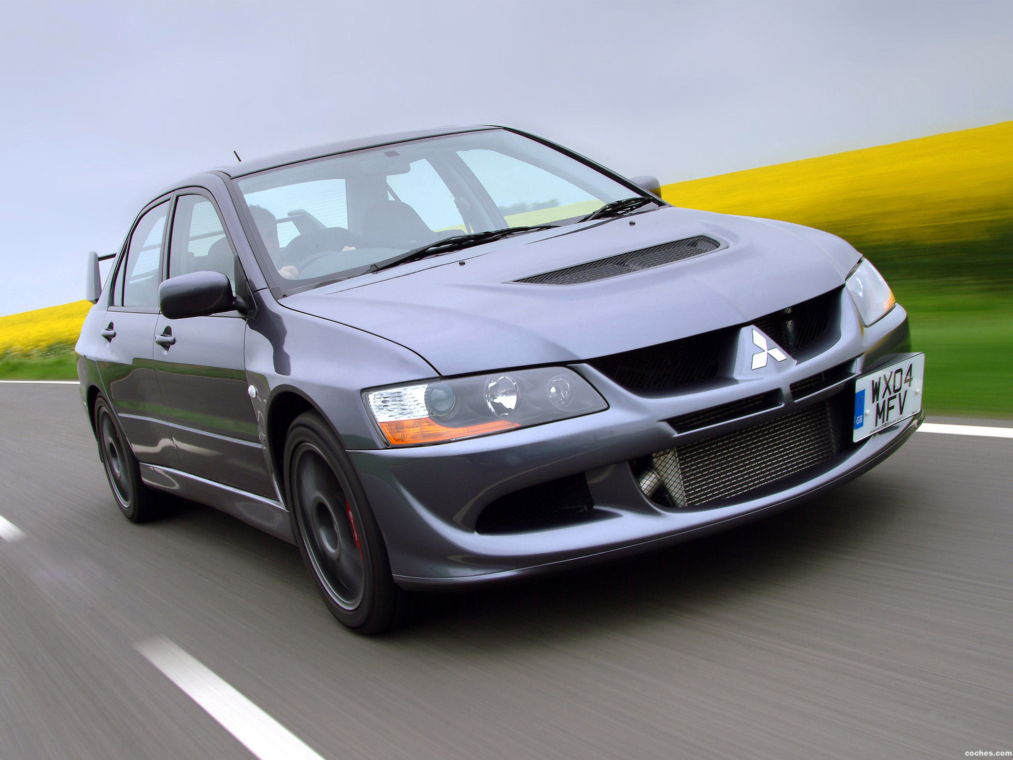 Foto 0 de Mitsubishi Lancer Evolution VIII MR 2004