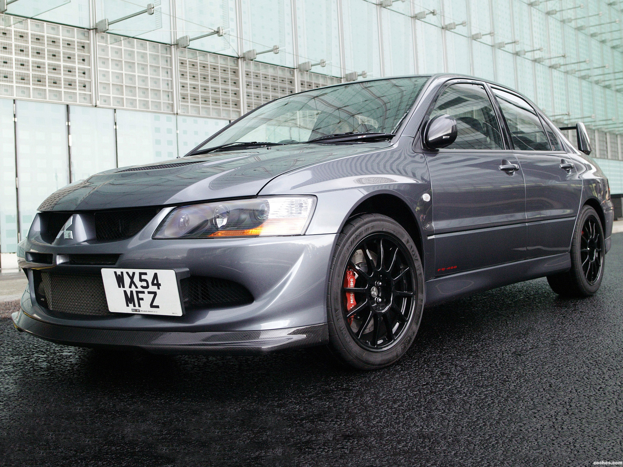 Foto 0 de Mitsubishi Lancer Evolution VIII MR FQ 400 2004