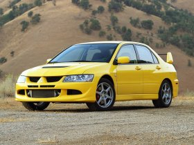Ver foto 1 de Mitsubishi Lancer Evolution VIII USA 2003