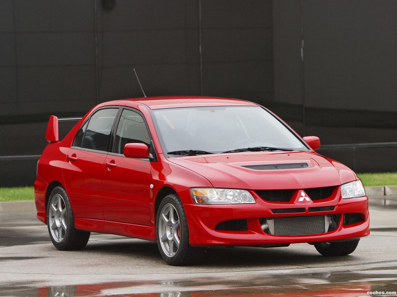 Foto 1 de Mitsubishi Lancer Evolution VIII USA 2003