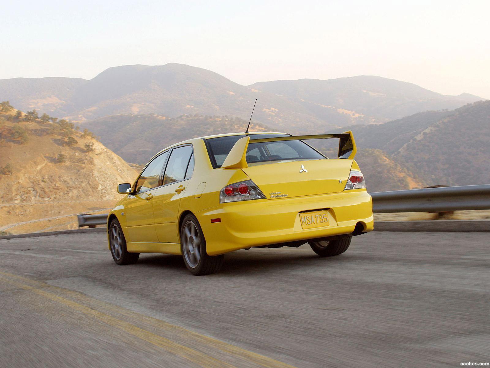 Foto 3 de Mitsubishi Lancer Evolution VIII USA 2003