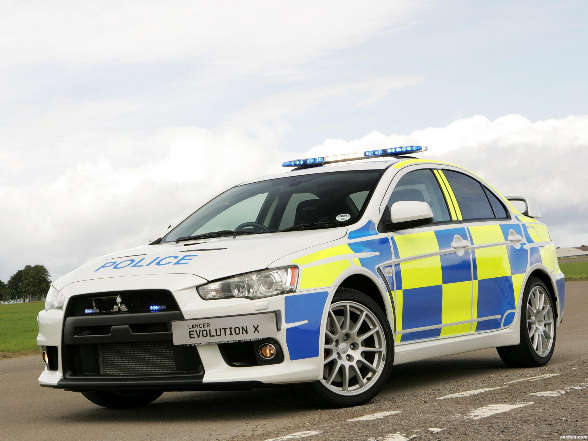 Foto 0 de Mitsubishi Lancer Evolution X Police 2008