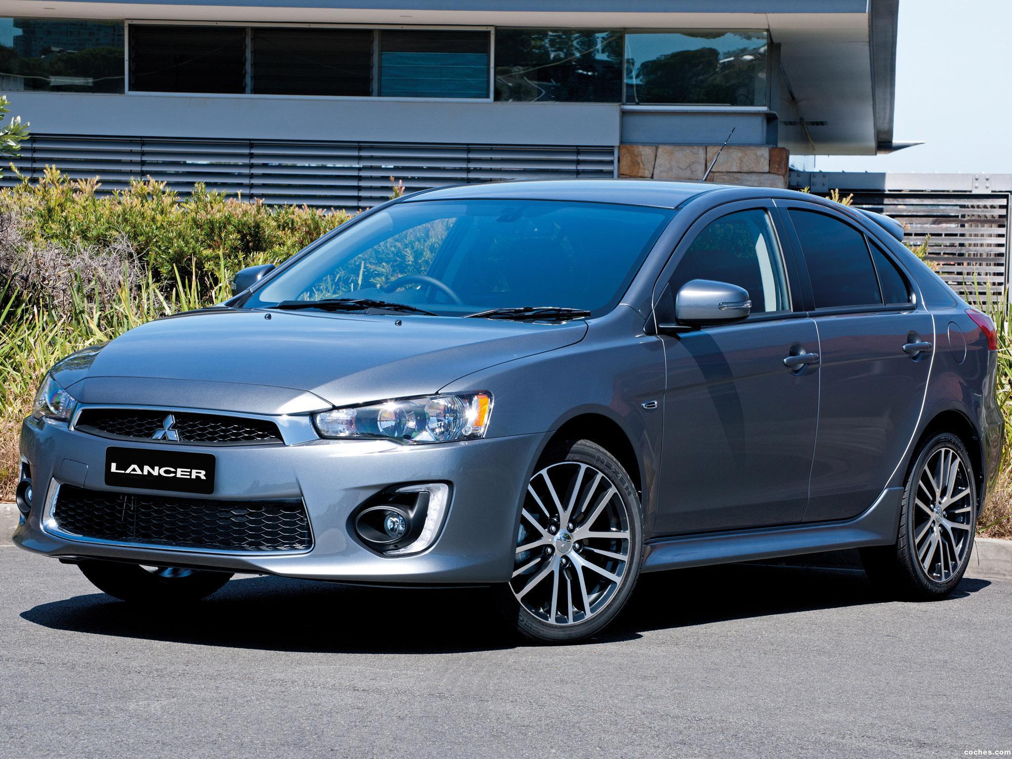 Foto 2 de Mitsubishi Lancer GSR Sportback Australia  2015