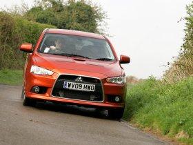 Ver foto 9 de Mitsubishi Lancer Sportback Ralliart UK 2009