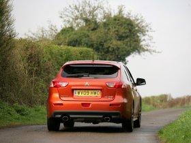 Ver foto 3 de Mitsubishi Lancer Sportback Ralliart UK 2009