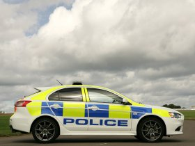 Ver foto 2 de Mitsubishi Lancer Sportback UK Police 2009