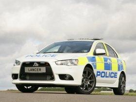 Ver foto 7 de Mitsubishi Lancer Sportback UK Police 2009