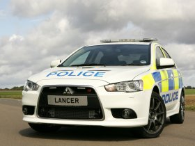 Ver foto 6 de Mitsubishi Lancer Sportback UK Police 2009