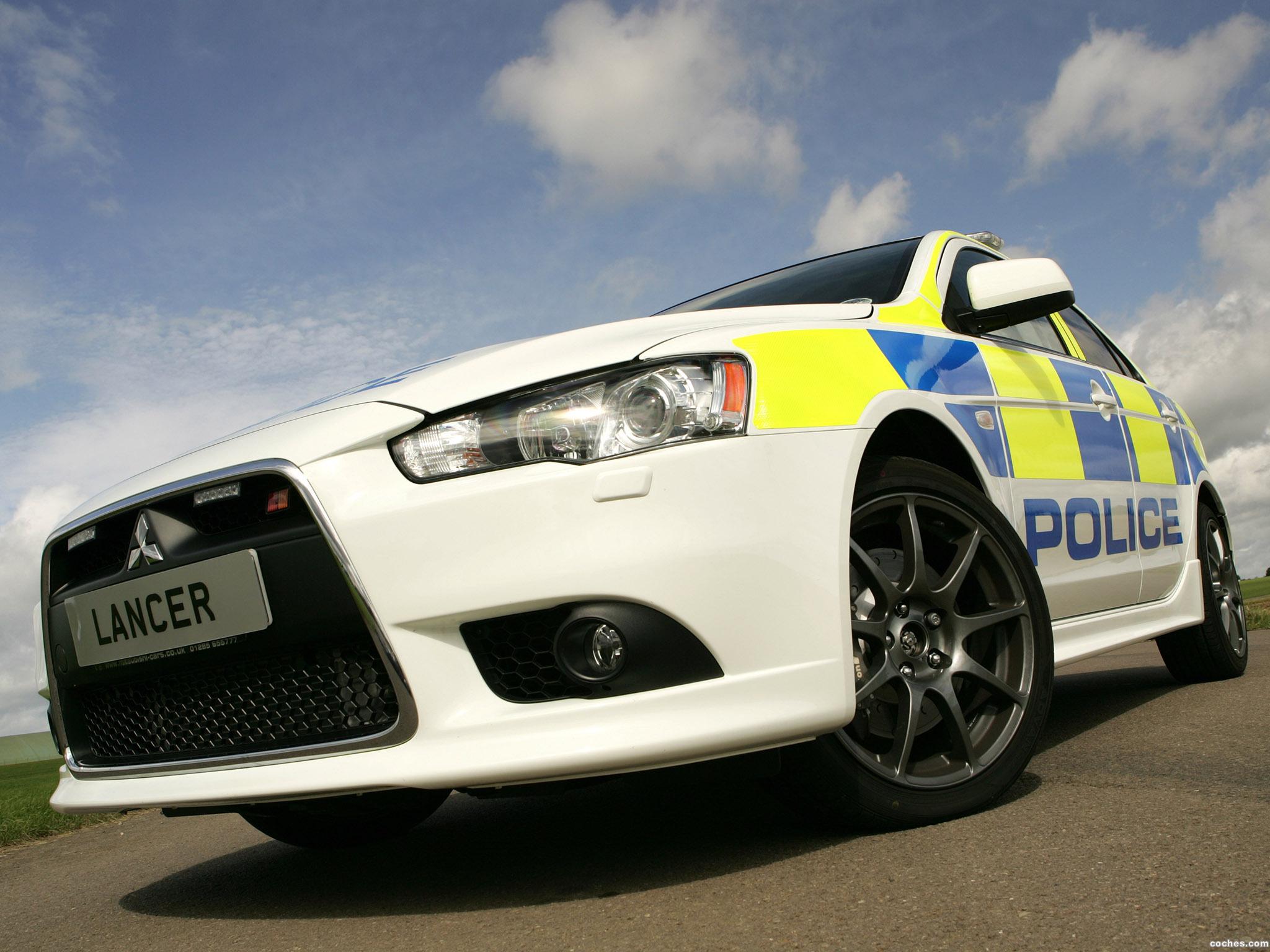 Foto 0 de Mitsubishi Lancer Sportback UK Police 2009