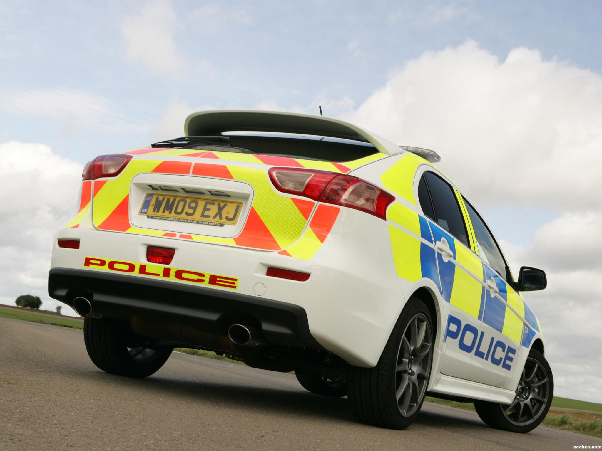 Foto 3 de Mitsubishi Lancer Sportback UK Police 2009