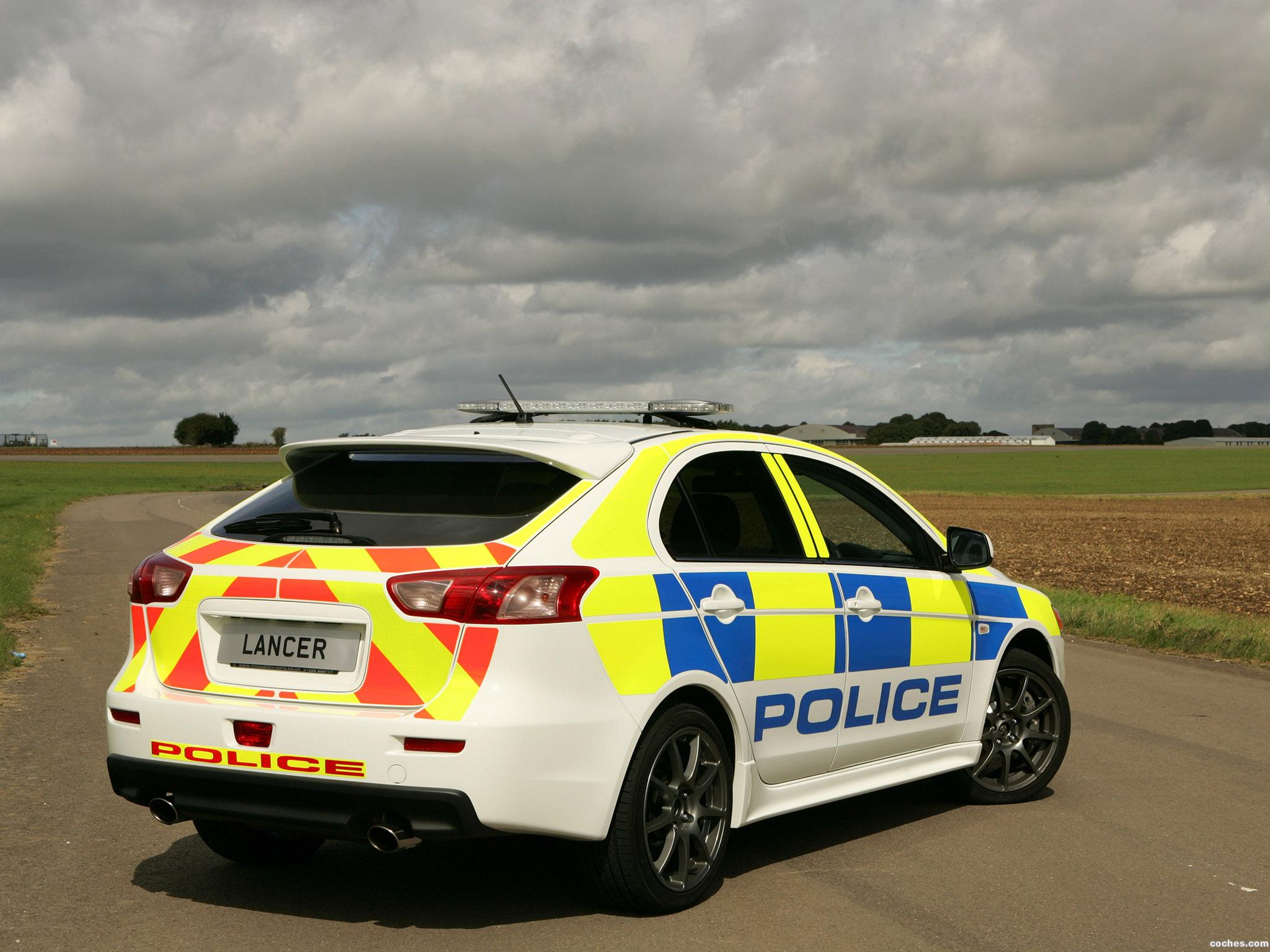 Foto 2 de Mitsubishi Lancer Sportback UK Police 2009