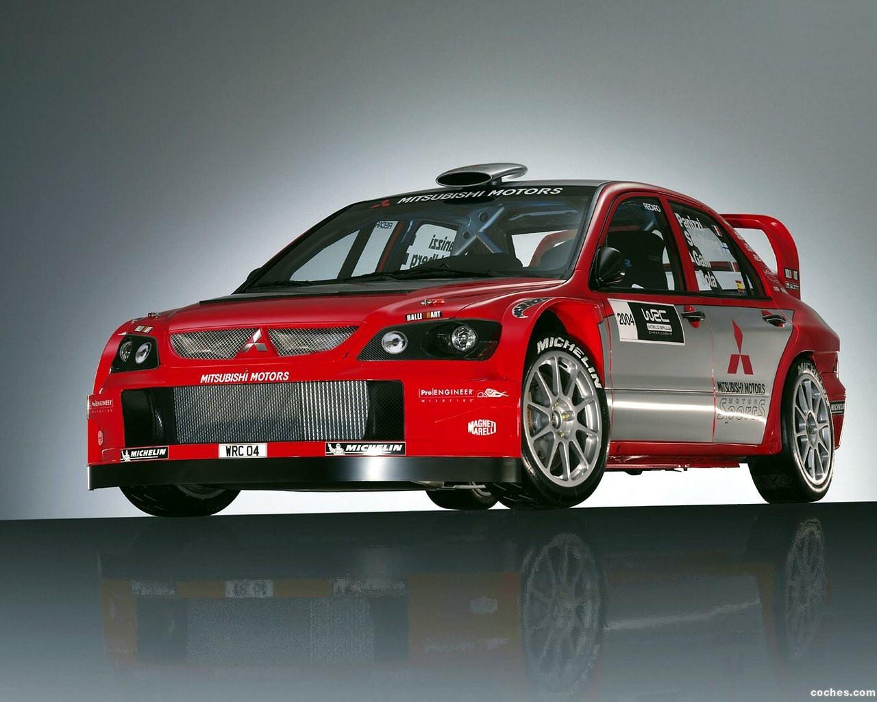 Foto 0 de Mitsubishi Lancer WRC 2004